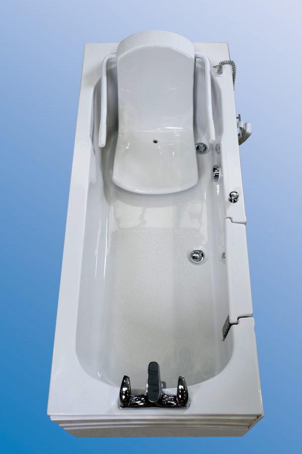 power bath with door