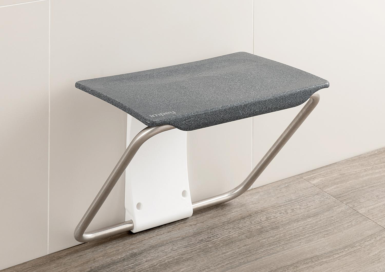 shower bench granite by Slimfold