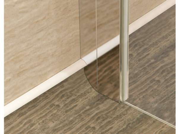 Impey Supreme coved floor adapter